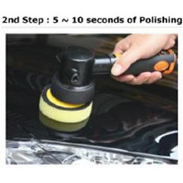 2nd Step : 5 - 10 seconds of Polishing