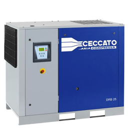 Gear driven Screw Compressor