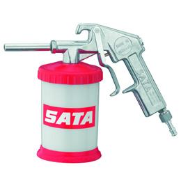 SATA grit blasting gun
