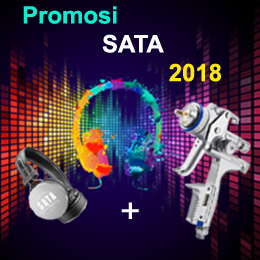PROMOSI SATA 2018  -  SATAjet 5000 B + Headphone
